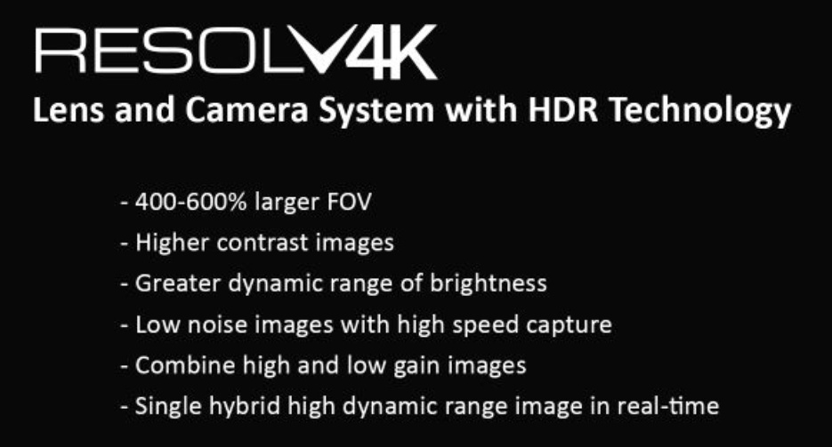 Resolv4K® Zoom and Fixed Systems photo