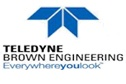 Teledyne Brown Engineering and NASA logo
