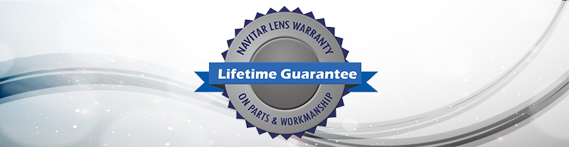 Navitar Lifetime Warranty